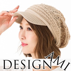 [ 2020NewItem ] S/S Style Cotton Attached Knitted Casquette