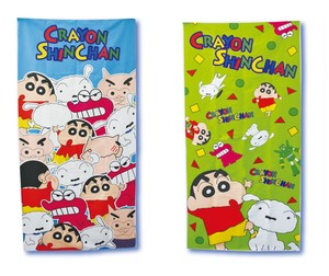 """Crayon Shin-chan"" Water Absorption Bathing Towel 2 Colors Set of Assorted"