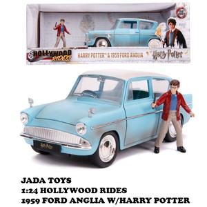 1:24 HARRY POTTER 1959 FORD ANGLIA w/HARRY POTTER【ハリーポッター ミニカー】