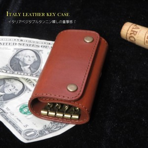 Italy Leather Adult Genuine Leather Key Case