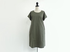 Open Cotton Linen One-piece Dress