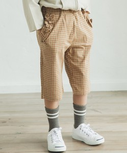 [ 2020NewItem ] Cotton Frill Plain Dot Checkered Half Pants