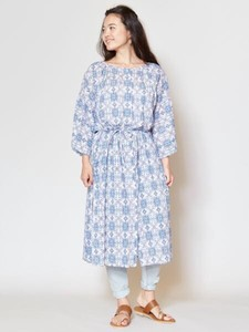 Design Andalusia Non-colored Shirt One-piece Dress