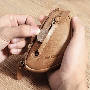 Genuine Leather Key Case Coin Case
