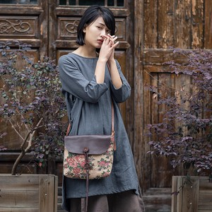 Cotton Linen Ladies Tote Bag Shoulder Bag