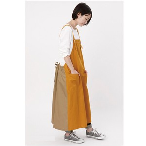 Bi-Color Waist Gather Apron