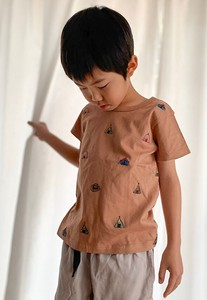 [ 2020NewItem ] Front Embroidery T-shirt Kids Toddler Girl Boys