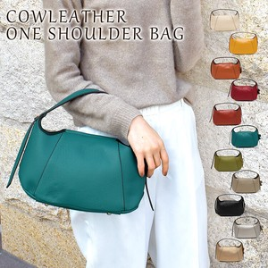Cow Leather Single-shoulder Bag Magnet Cow Leather Bag Diagonally