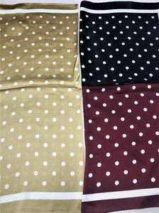 """2020 New Item"" SC Petit Dot Print Scarf"