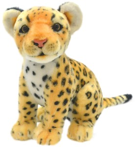 Sitting Soft Toy Leopard