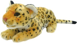 Lying Down Soft Toy Leopard