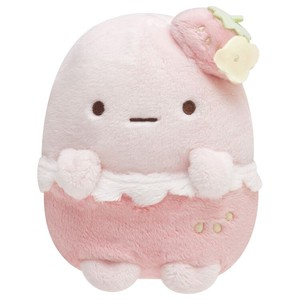 Puffy Soft Toy Pink Strawberry [ 2020NewItem ]