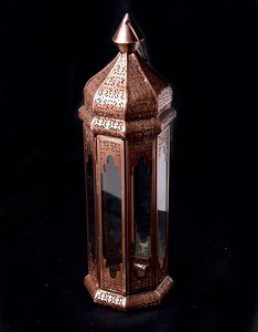 Morocco Style Stand LED Candle Lantern Candle LED Candle Attached