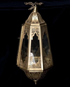 Morocco Style LED Candle Lantern Candle LED Candle Attached