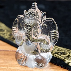 India God Glass Paper Weight
