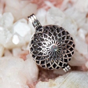 Ethnic Ball Pendant Head Flower