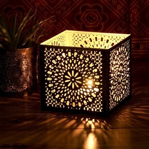 Geometric Patterns Watermark Sharpen Mandala Lamp Square