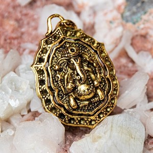 Pendant Gold Attached
