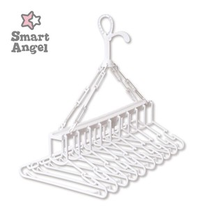 Kids Clothes Hanger White