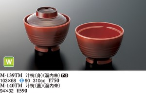 Soup Bowl Inside Fountain Melamine