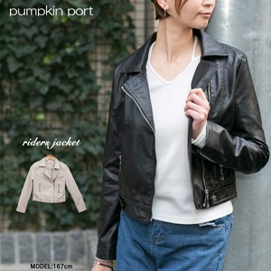 Fake Leather Compact Motorcycle Leather Jacket