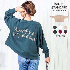 """2020 New Item"" Big Embroidery Fleece Sweatshirt"