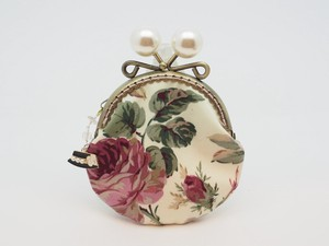 Feeling Coin Purse Pouch Coin Case Base Rose White