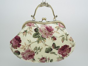 Feeling Coin Purse Bag Base Rose White