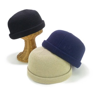 Cotton Linen Knitted Cap Young Hats & Cap