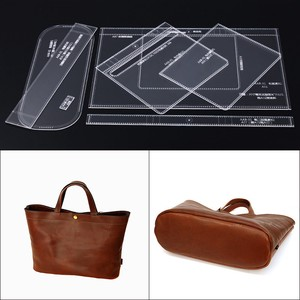 Handbag TEMPLATE Leather Craft Tool Pattern Pattern Leather