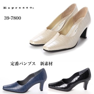 [ 2020NewItem ] Reservations Orders Items Heel Cow Leather Easy Design Pumps