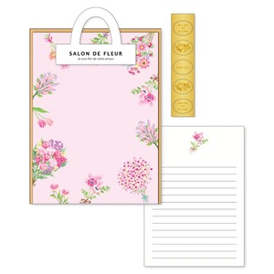 Salon Rule Writing Papers & Envelope pink