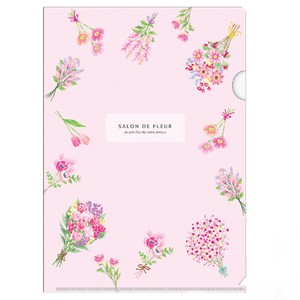 Salon Rule A4 Plastic Folder pink