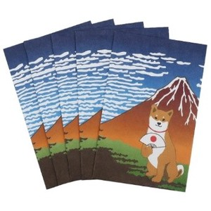 Japanese Style Money Envelope 5 Pcs Set AP Series Shiba Dog