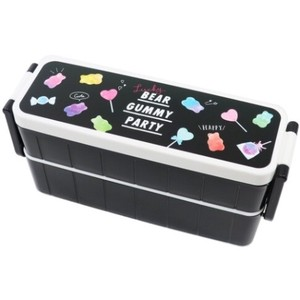 Bento (Lunch Boxes) SEAL Food Container Attached 2 Steps Lunch Box