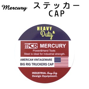 Mercury Sticker CAP