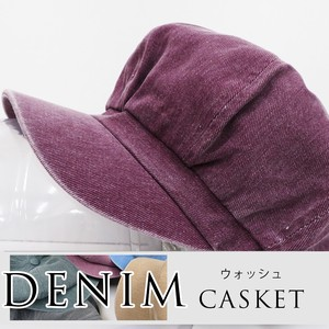 S/S Style Casquette Denim wash processing