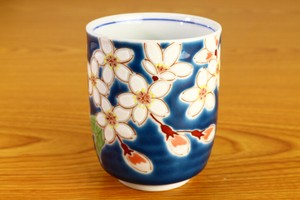 Japanese Tea Cup Four Seasons Flower Sakura