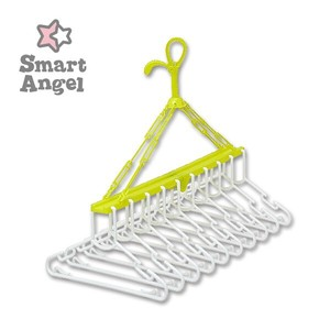 Kids Clothes Hanger Green