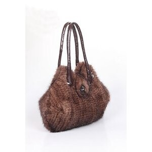 [ 2020NewItem ] Mink Fur Bag Tote Bag Included