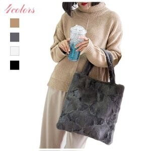 [ 2020NewItem ] Bag Fur Bag Tote Bag Real Mink Fur Bag Handbag Handbag