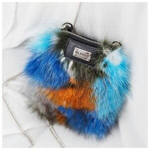 [ 2020NewItem ] Shoulder Bag Ladies Fur Diagonally Bag Fox Fur Bag