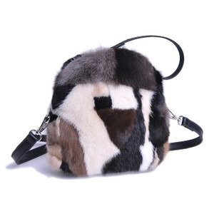 [ 2020NewItem ] Fur Mink Fur Bag Pouch Bag Storage Bag Ladies Fur Tote Bag