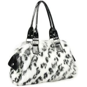 [ 2020NewItem ] Fur Fur Rabbit fur Shoulder Bag Genuine Leather Tote Single-shoulder