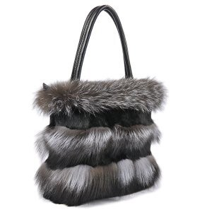 [ 2020NewItem ] Fur Fur Fox Fur Rabbit fur Shoulder Single-shoulder Handbag Bag
