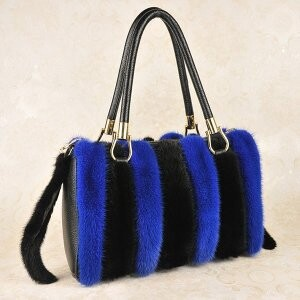 [ 2020NewItem ] Fur Fur Mink Fur Bag Diagonally Shoulder Single-shoulder Handbag Bag
