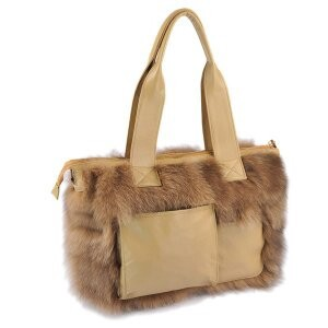 [ 2020NewItem ] Fur Fox Fur Bag Shoulder Single-shoulder Tote Bag Bag