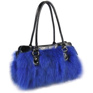 [ 2020NewItem ] Fur Fur Fox Fur Bag Shoulder Bag Single-shoulder Bag Leather Bag