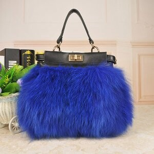 [ 2020NewItem ] Fur Fur Fox Fur Bag Handbag Bag Shoulder Bag
