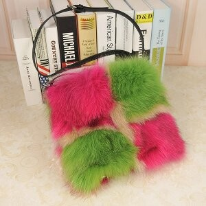 [ 2020NewItem ] Fur Fur Fox Fur Bag Single-shoulder Diagonally Shoulder